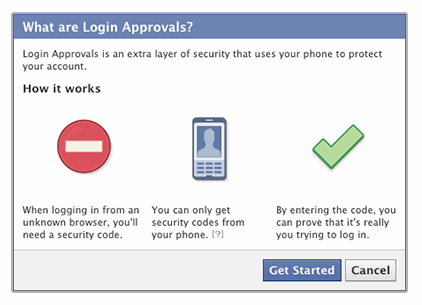 Faceook Login Approvals